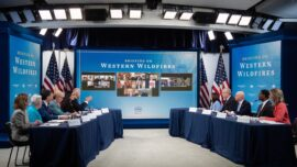 President, Governors Discuss Wildfires in Pacific Northwest