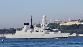 Russia Says It Fires Warning Shots at British Destroyer Near Crimea, UK Denies It