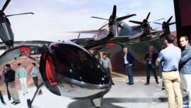 Archer Aviation's Flying Taxi Makes Debut