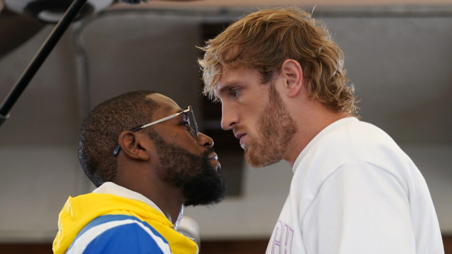 Logan Paul Channels Fictional Boxer Rocky and Goes Distance Against Mayweather
