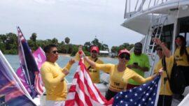 Memorial Day Boat Parade in Florida