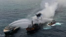 Chemical Cargo Ship Sinks Off Sri Lanka, Fouling Rich Fishing Waters