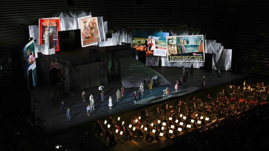 3D Video Replaces Huge Sets in Verona as Full Operas Resume