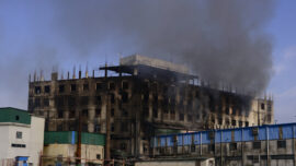 Police Arrest Bangladesh Factory Owners After Fire Kills 52