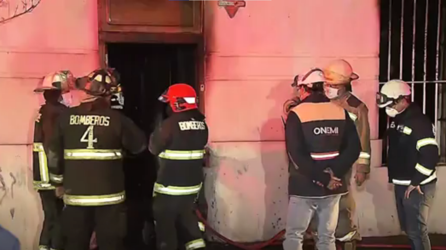 Six Dead and Eight Injured in Chilean Fire