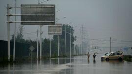 Concern Over Flood Victims With Bleeding Eyes