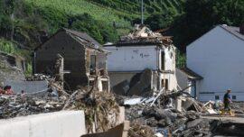 Volunteers Help out in Flood-Hit German Towns