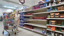 Supermarkets Urge Customers Not Panic Buy