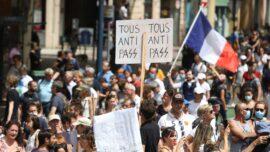 Vaccine Mandates Start, Protests Rage in Europe