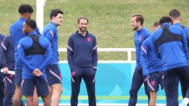 England Prepares For Euro 2020 Quarter-Finals