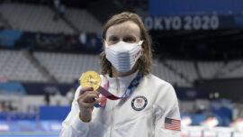 Olympics: Ledecky Wins Gold, Biles Still Out