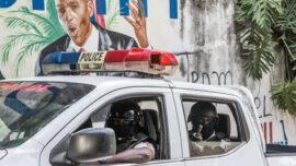 Haiti's Palace Security Head in Police Custody