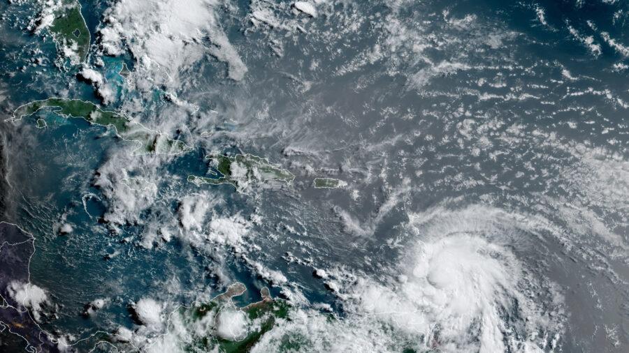 Hurricane Elsa Cuts Power, Batters Homes in Barbados