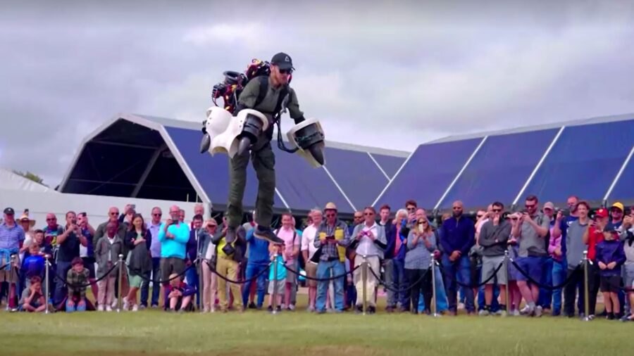 Electric-Powered Jet Suit Unveiled in UK