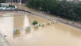 Zhengzhou's Pumping Station Fails Amid Flood