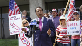 Larry Elder Sues California Secretary of State Over Decision to Keep Him Off Recall Election Ballot