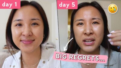 No Skincare Challenge: 1 Week | Do Not Try This at Home…