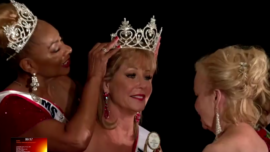Texas Women Compete at Senior Beauty Pageant