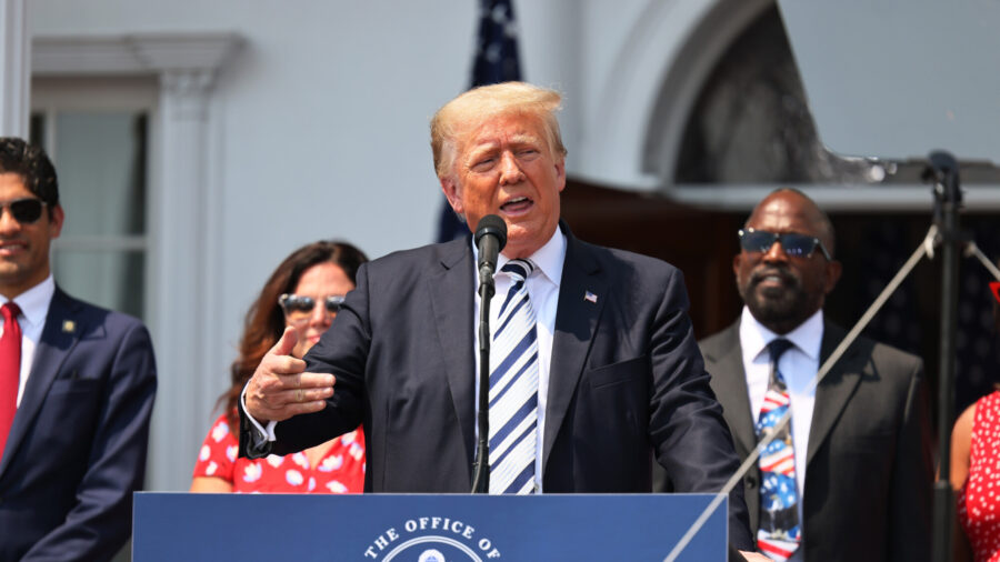 Trump Reveals Why He Hasn't Announced 2024 Presidential Run Yet