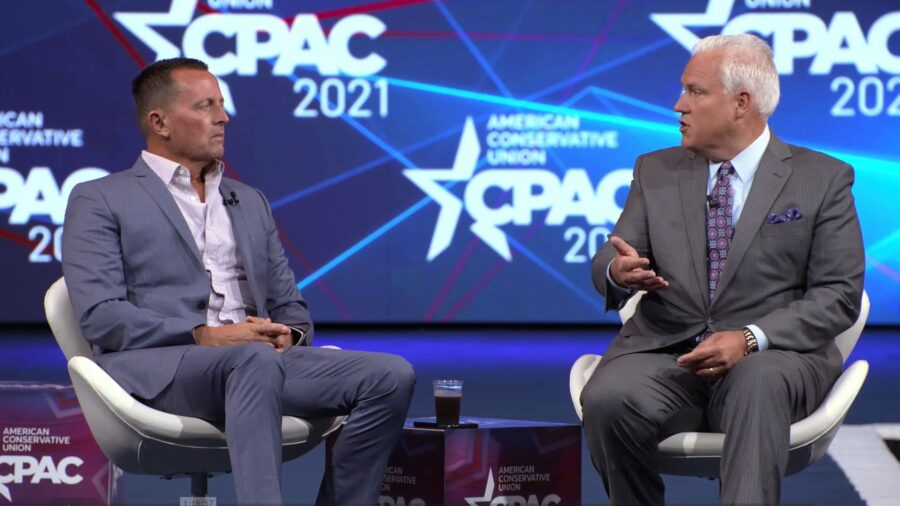CPAC: Richard Grenell Urges Federal Action Over Alleged 'Unmasking' of Tucker Carlson