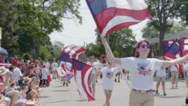 Chicago Suburb's July 4th Parade