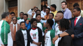 Male Mentors Work to Empower Young Chicagoans