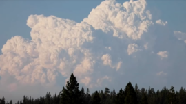 Homes Destroyed, Threatened by Oregon Wildfire