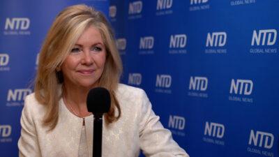China Regime's Tough Talk Against US Is to Mask Its Fragility: Sen. Marsha Blackburn (CPAC-Texas)