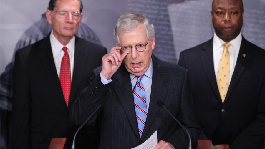 Senate Republicans Vote to Block Debate on $1.2 Trillion Infrastructure Deal