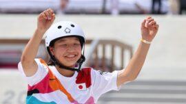 Japan's Nishiya Leads Teen Skater Medal Rush