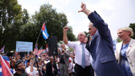Members of Congress Join Cuba Freedom Rally