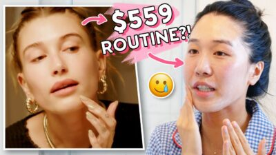 We Tried Hailey Bieber's Entire Skincare Routine!