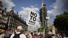 Tories Split Over Vaccine Passports