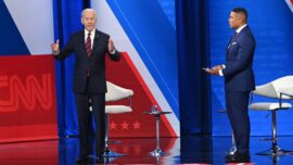Biden Claims His Spending Plans Will Reduce Inflation, Drawing Conservative Backlash