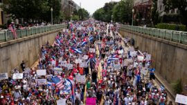 Thousands Join Cuba Freedom March Near White House