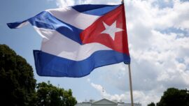 Houston Rally-Goers Support Cubans From Afar