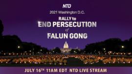 LIVE: Washington Rally to End Persecution of Falun Gong