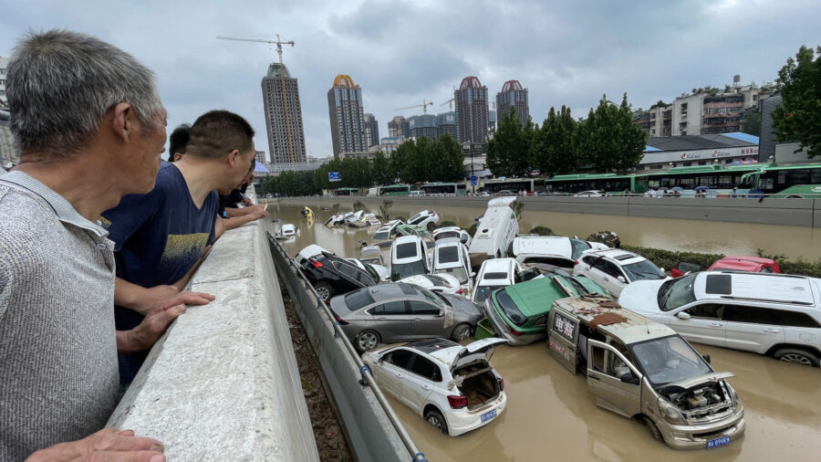 Bodies Recovered From Tunnel That Was Submerged by Floodwaters in Central China