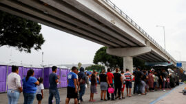 Proxy Points of Entry for Migrants Crossing Rio