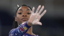 Russians Top Biles, Americans in Gymnastics Qualifying