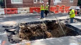 Giant Sinkhole Opens up in NYC, Swallowing Part of Street