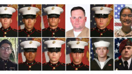 All 13 US Service Members Who Died in Kabul Airport Attack Will Be Posthumously Awarded the Purple Heart