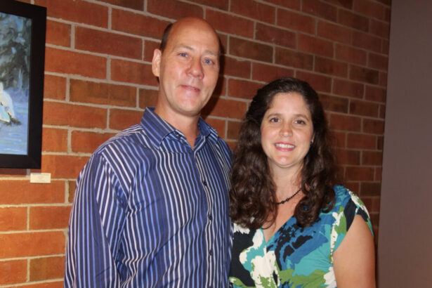 Tom Feldman and his wife