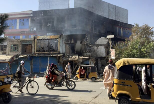 Damaged shops