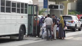 Afghan Evacuees Arrive in Pennsylvania