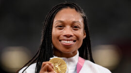 'I Feel at Peace': Felix Exits Stage With Record 11th Olympic Medal