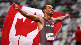 Gold for De Grasse, Another Huge 400m Hurdles Record