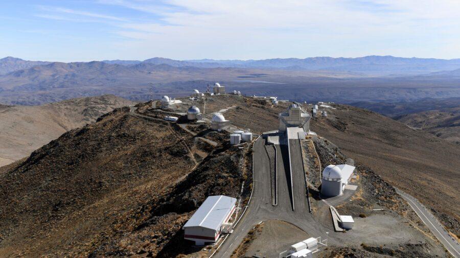 Snowfall in Chilean Atacama Desert, World's Driest