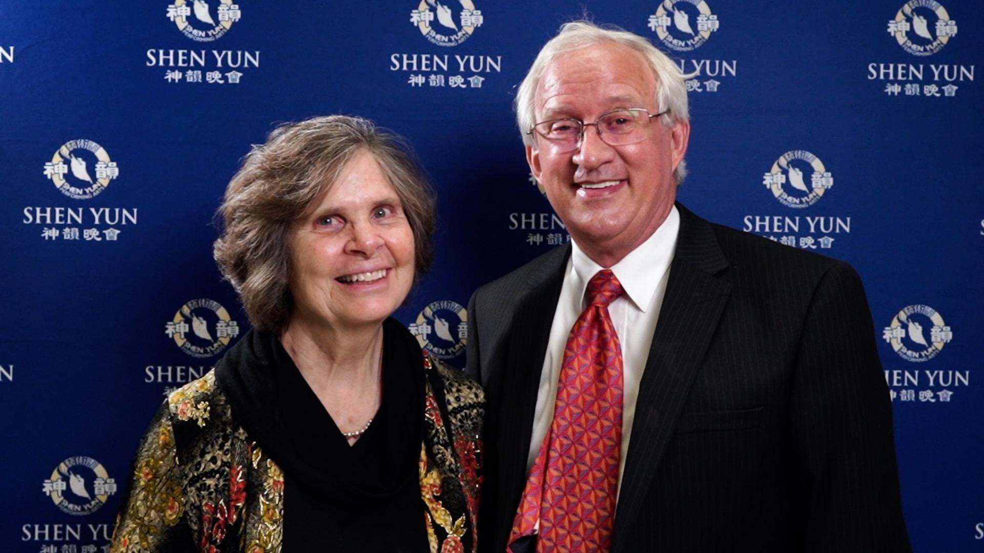 College Professor Leaves Shen Yun Performance Feeling Lighter