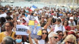 Mass Protests Against Health Pass in France